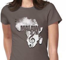 Malawi Grunge Tshirt Womens Fitted T-Shirt
