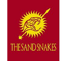 The Sand Snakes - Game of Thrones Photographic Print