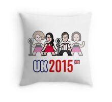 UK 2015 Throw Pillow