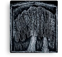 The Weeping Willow at Death Canvas Print