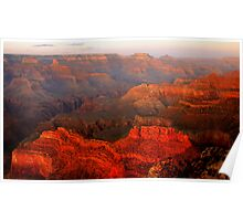 Grand Canyon Sunset From Hopi Point Poster