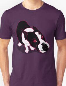 Mr Bull Terrier Pink Unisex T-Shirt