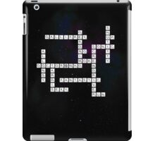 Doctor Who: Gallifreyan Scrabble iPad Case/Skin