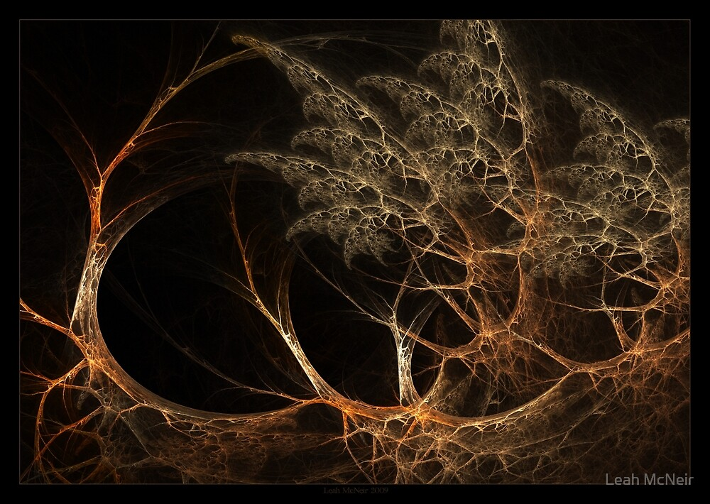 """""""Forest's Edge"""" - Fractal Art by Leah McNeir"""