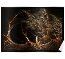"""""""Forest's Edge"""" - Fractal Art Poster"""