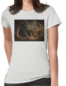 """""""Forest's Edge"""" - Fractal Art Womens Fitted T-Shirt"""