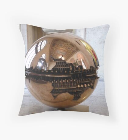 that's quite a paperweight! Throw Pillow
