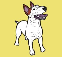Happy Bull Terrier  Kids Clothes