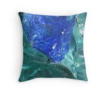 Slag Glass Throw Pillow
