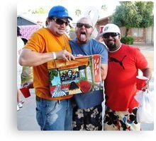 Tres Amigos *_con_* Dos Kahunas.......... Canvas Print