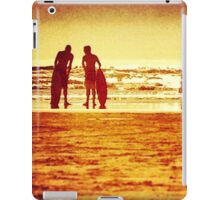 Surfing Seaside iPad Case/Skin