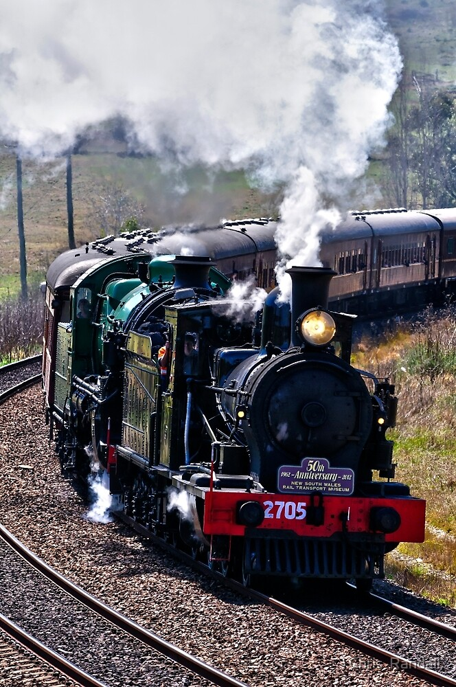 Double Heading 2705 & 3642 by Chris  Randall
