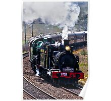 Double Heading 2705 & 3642 Poster