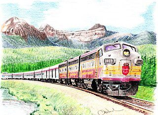 """""""The Canadian"""" (small version) by TomWard"""