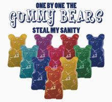 Gummy Bears Steal My Sanity by my-sanity