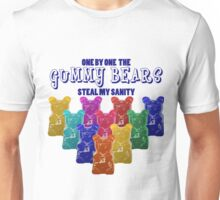Gummy Bears Steal My Sanity Unisex T-Shirt