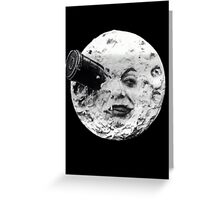 Trip to the Moon Greeting Card