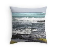 Richardson's Beach, Hilo Throw Pillow