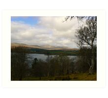 Donegal Lake Art Print