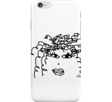 Curly or Straight? Flawless Hair simple Fashion statement Tamera Mowry style Power iPhone Case/Skin