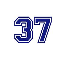 Number 37 Photographic Print