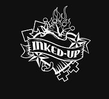 Inked-Up in White - Large Unisex T-Shirt