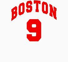 Jack Eichel - BU #9 - white jersey Men's Baseball ¾ T-Shirt