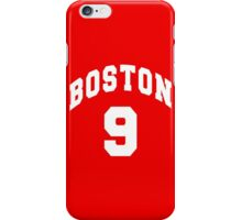 Jack Eichel - BU #9 - red jersey iPhone Case/Skin
