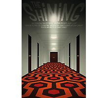 The Shining alternative movie poster Photographic Print