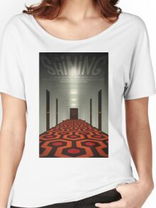 The Shining alternative movie poster Women's Relaxed Fit T-Shirt