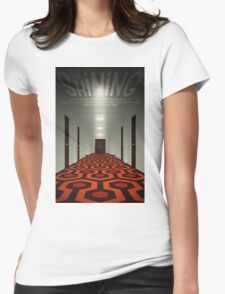 The Shining alternative movie poster Womens Fitted T-Shirt