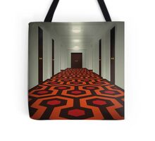 The Shining alternative movie poster Tote Bag