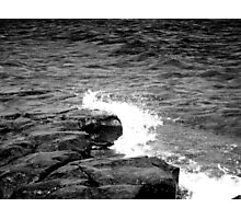 Crash and Ripple Photographic Print