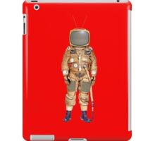 TV Astronaut iPad Case/Skin
