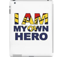 My Own Hero Captain Marvel iPad Case/Skin