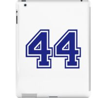 Number 44 iPad Case/Skin