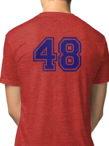 Number 48 Tri-blend T-Shirt