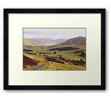 The head of the valley. Framed Print
