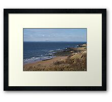 Gullane Beach Framed Print