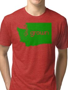 WA Grown Tri-blend T-Shirt