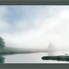 Sheepscott    Mist by Dave  Higgins