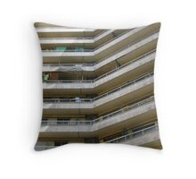 The Cult of the Balcony Throw Pillow