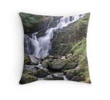Torq Waterfall, Co Kerry, Ireland Throw Pillow