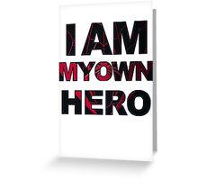 My Own Hero - Miles Morales Greeting Card