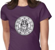 The Owl Womens Fitted T-Shirt