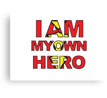 My Own Hero Spider Woman Canvas Print