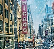 Chicago Through the Window by Kadwell