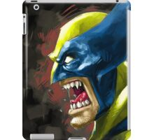 Painted Wolverine iPad Case/Skin
