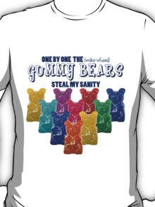 Vodka Infused Gummy Bears T-Shirt