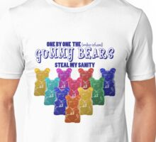 Vodka Infused Gummy Bears Unisex T-Shirt